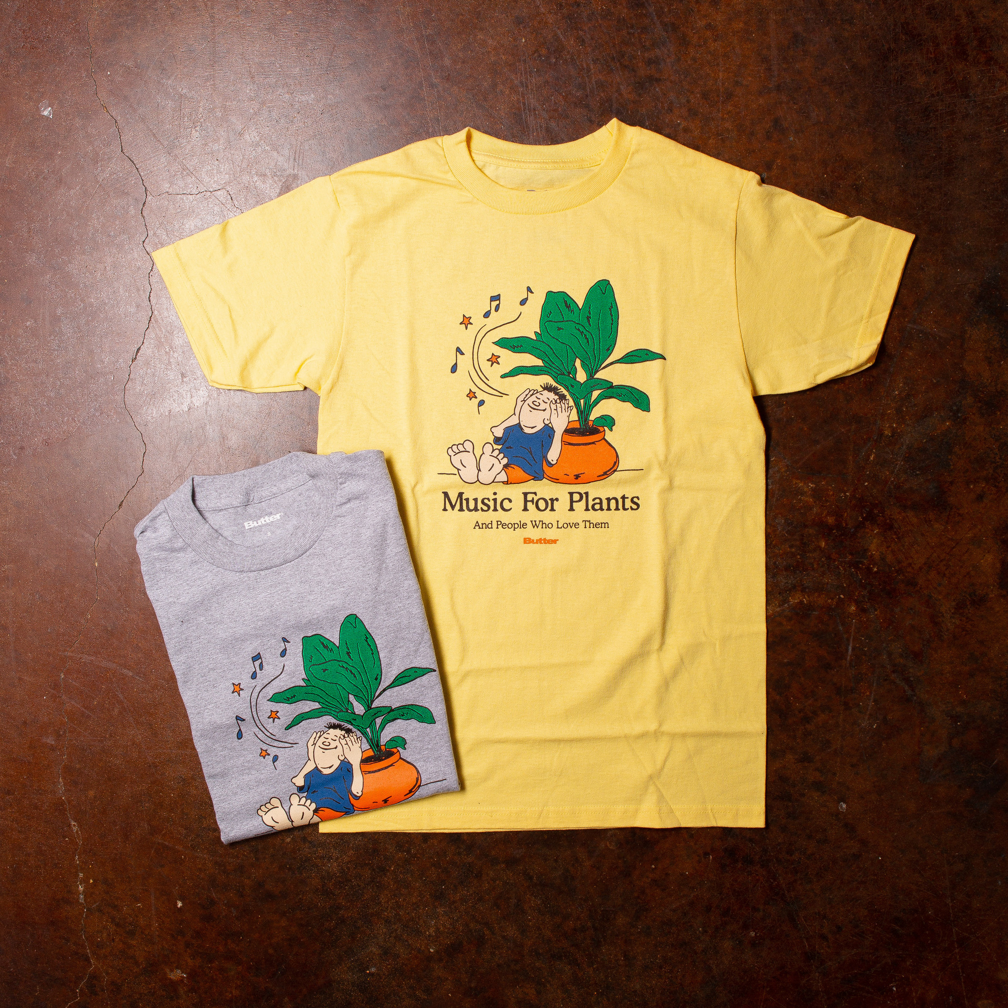 Butter Goods Music For Plants Tee