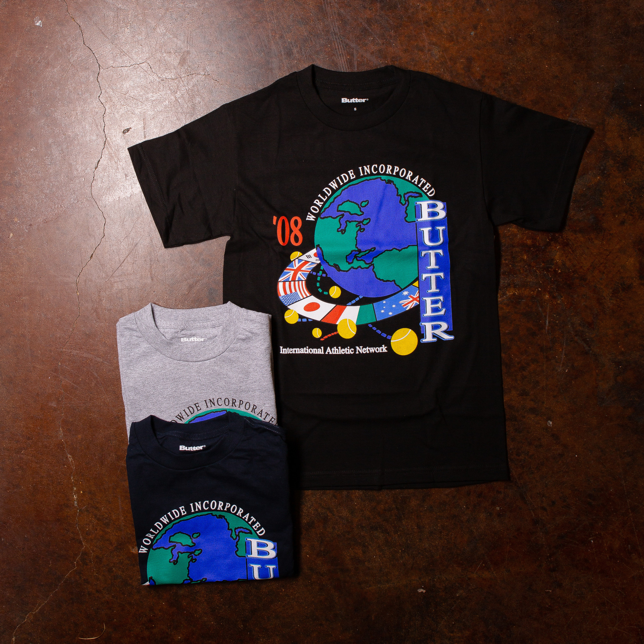 Butter Goods Athletic Network Tee