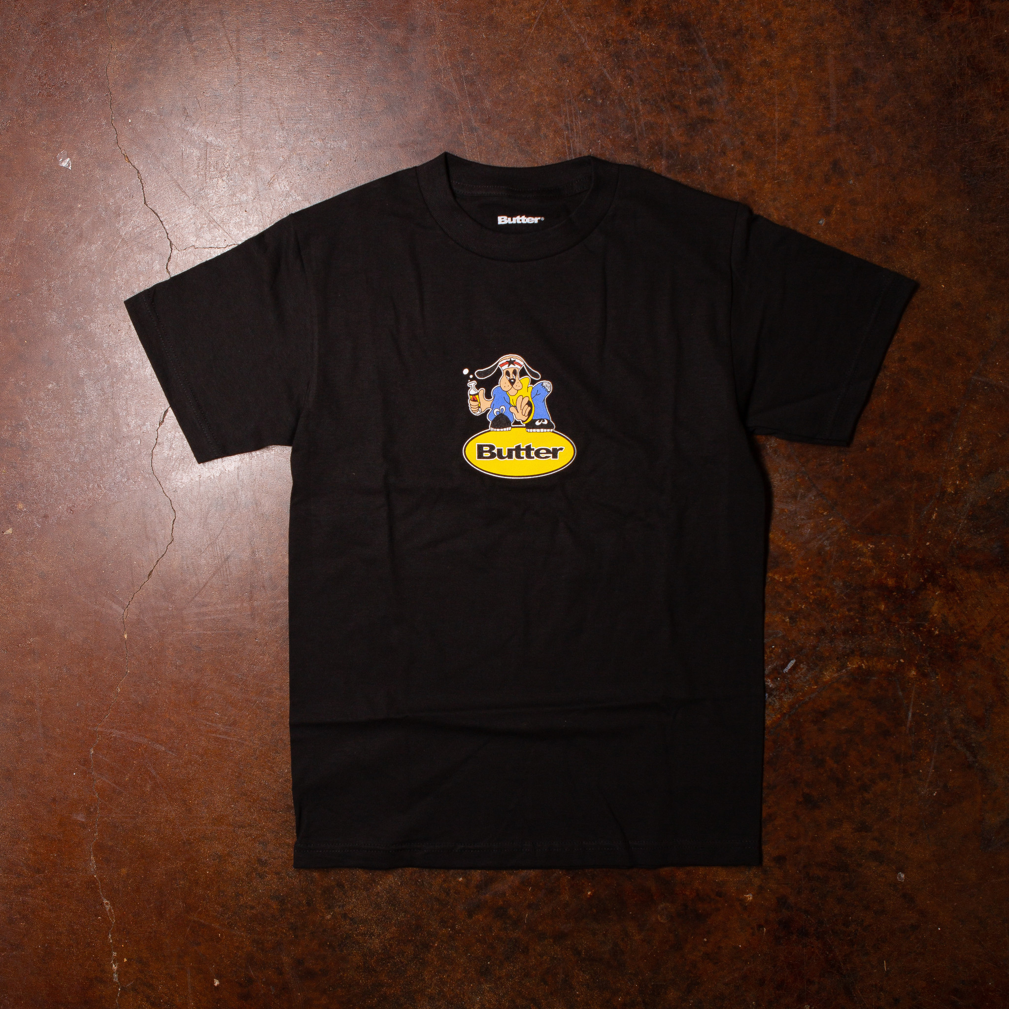 Butter Goods Homeboy Badge Tee Black