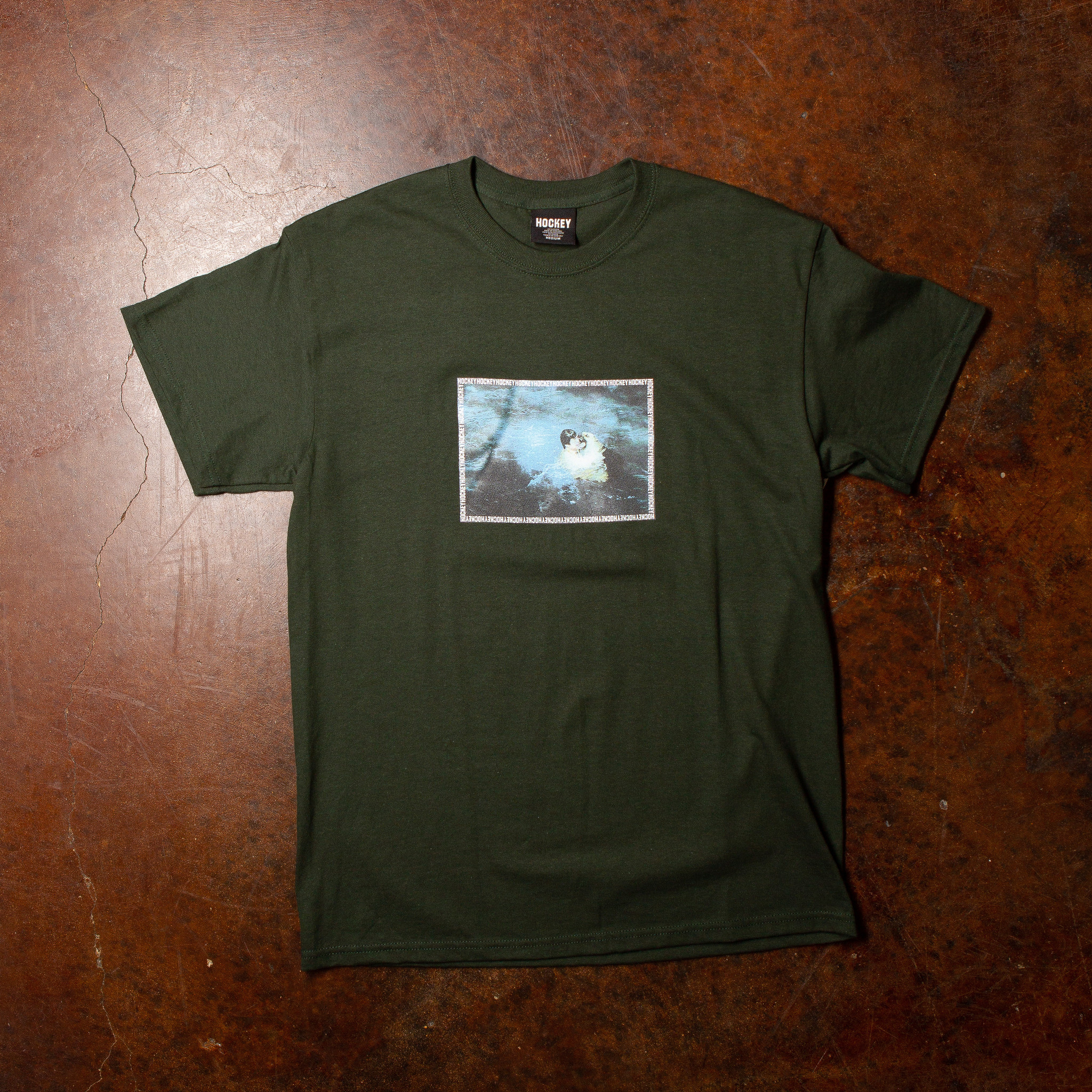 Hockey Rescue Tee Forest Green