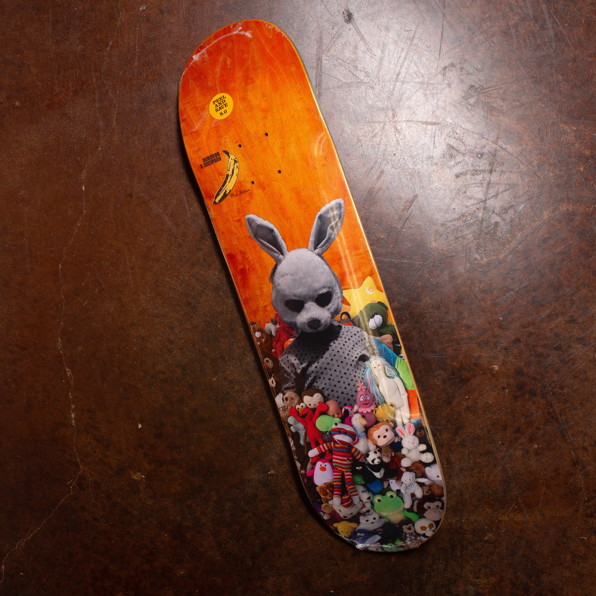 Business and Company Marc Johnson Bunny Mash Up (multiple sizes)