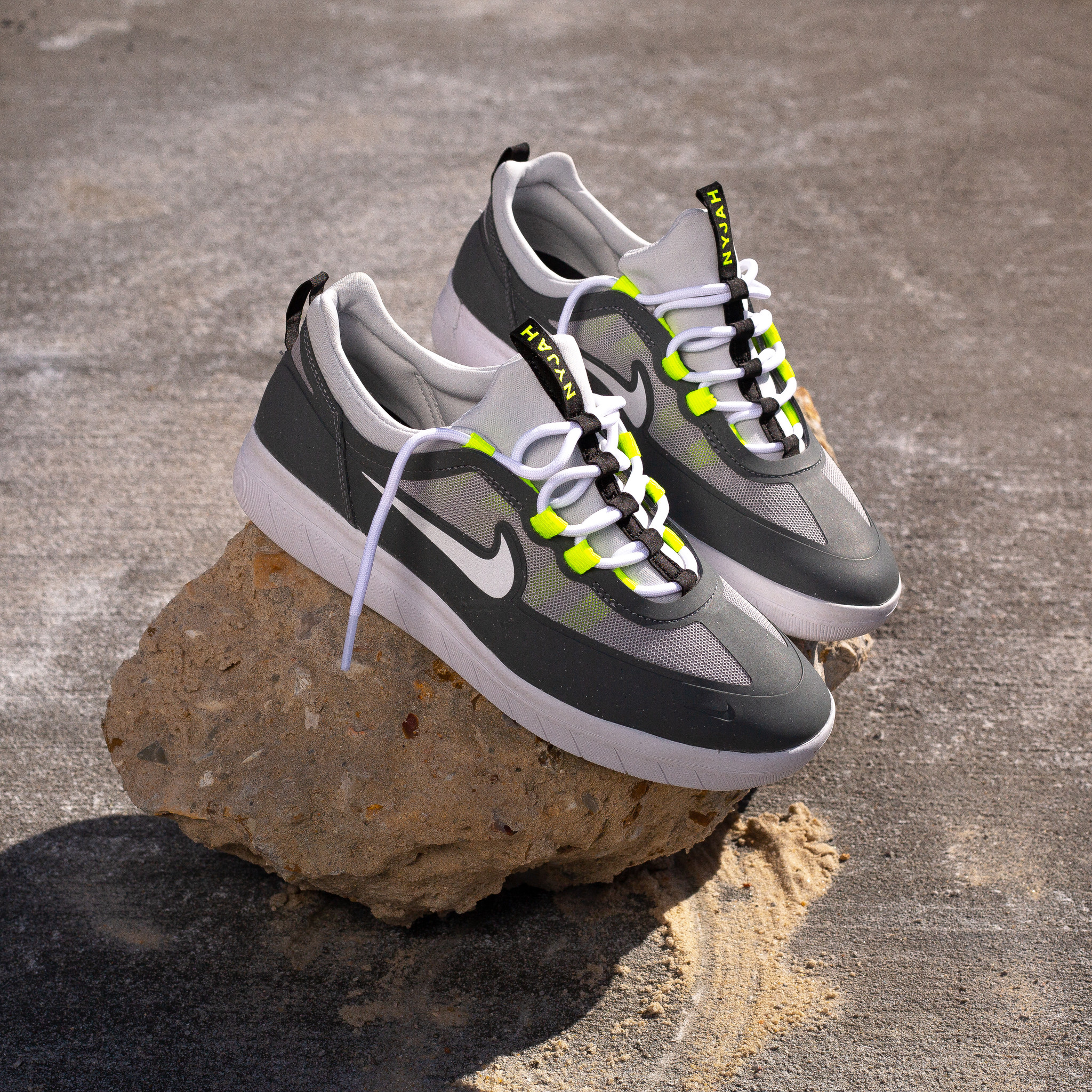 Nike SB Nyjah II Smoke Grey