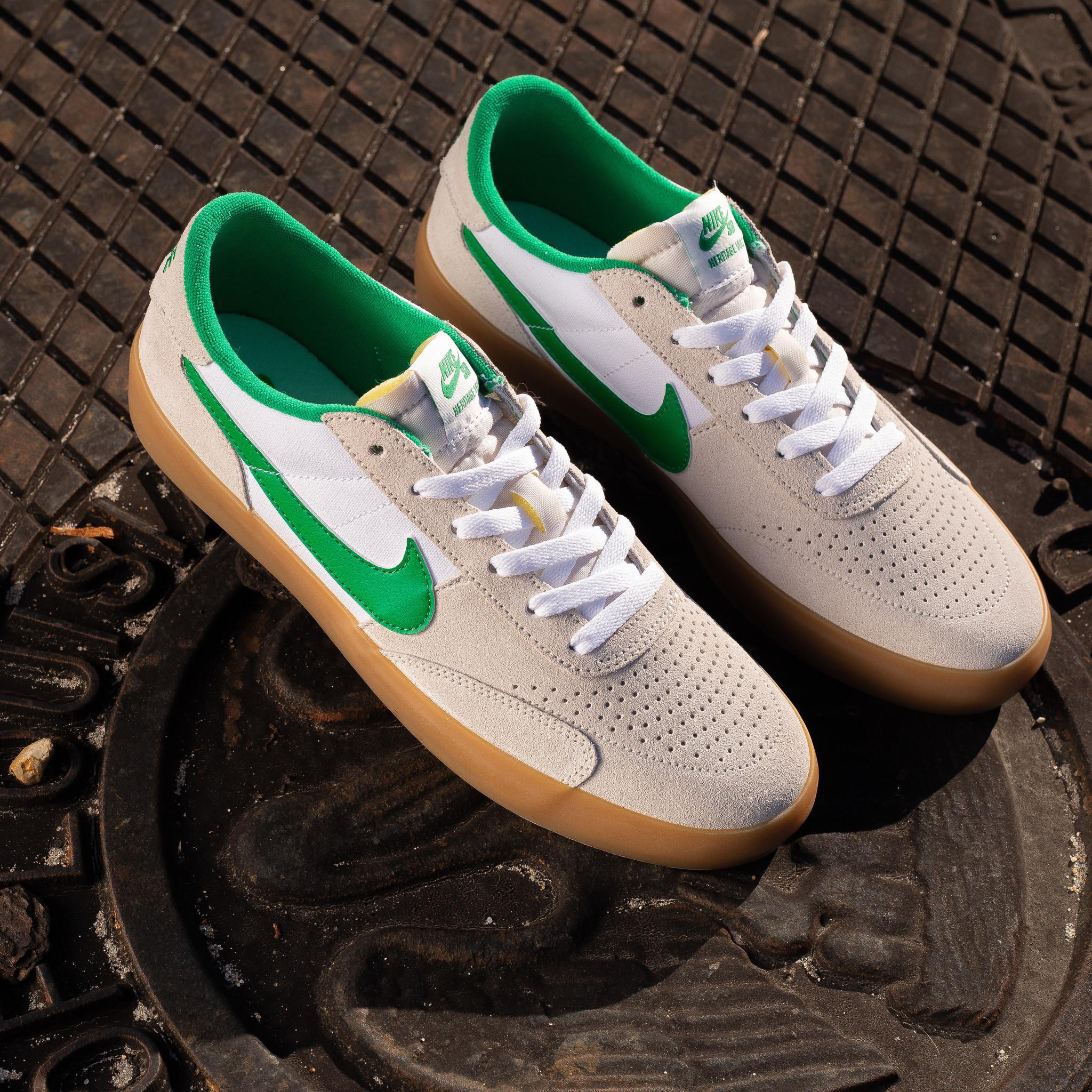 Nike SB Heritage Vulc summit white/lucky green