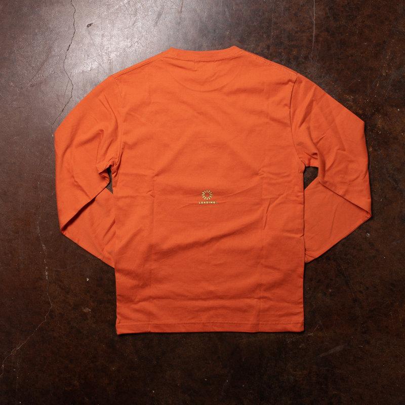XLarge Loading Long-Sleeve Orange