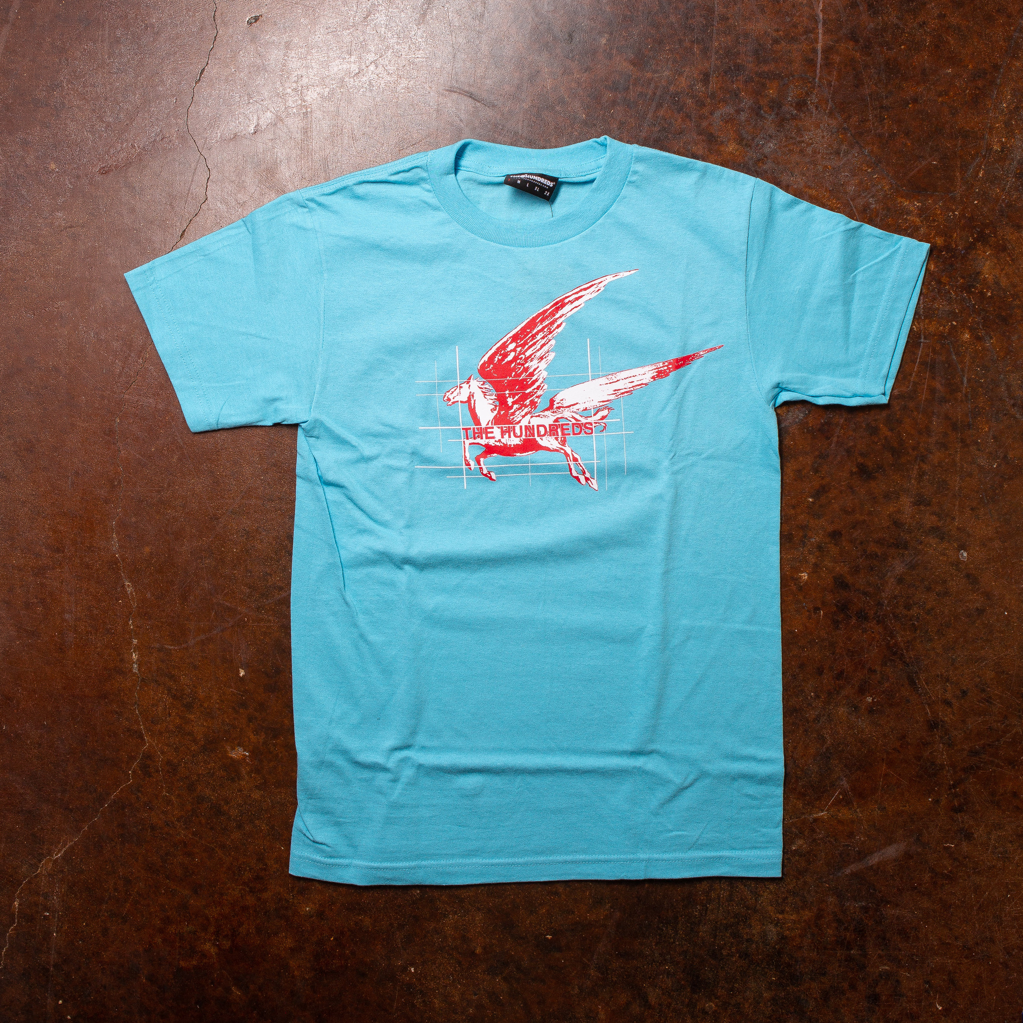The Hundreds Mustang Tee Pacific Blue