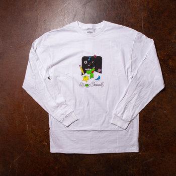 Frog Frog x Vans Long-Sleeve Tee White