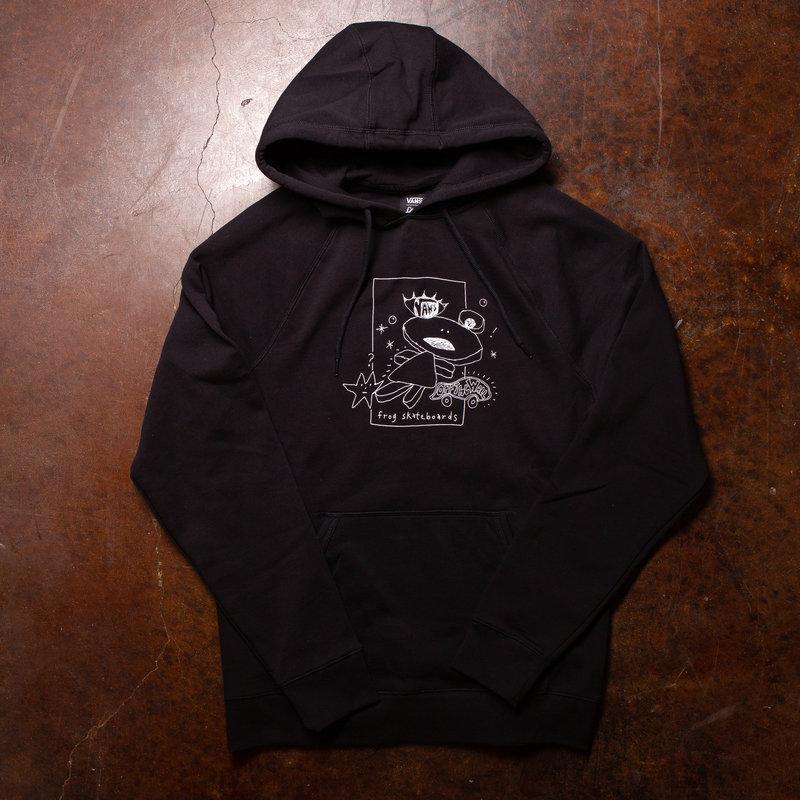 Frog x Vans Versa Standard Hoodie Black
