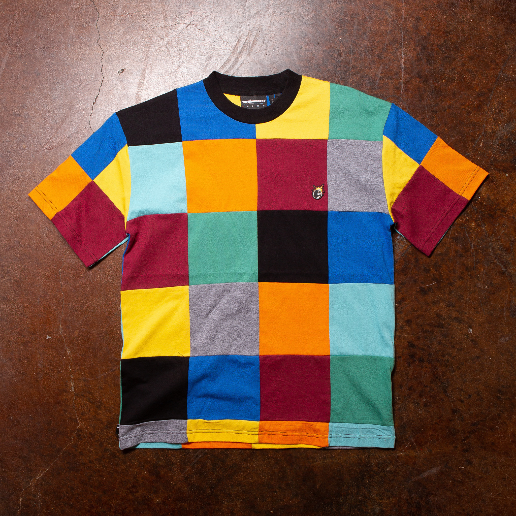 The Hundreds Patchwork SS Top  Multi