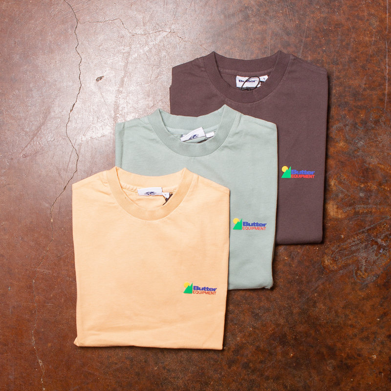 Butter Goods Equipment Pigment Dyed Tee