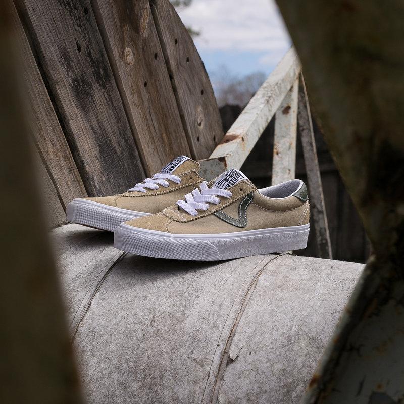 Vans Sport  Beige/Military Green