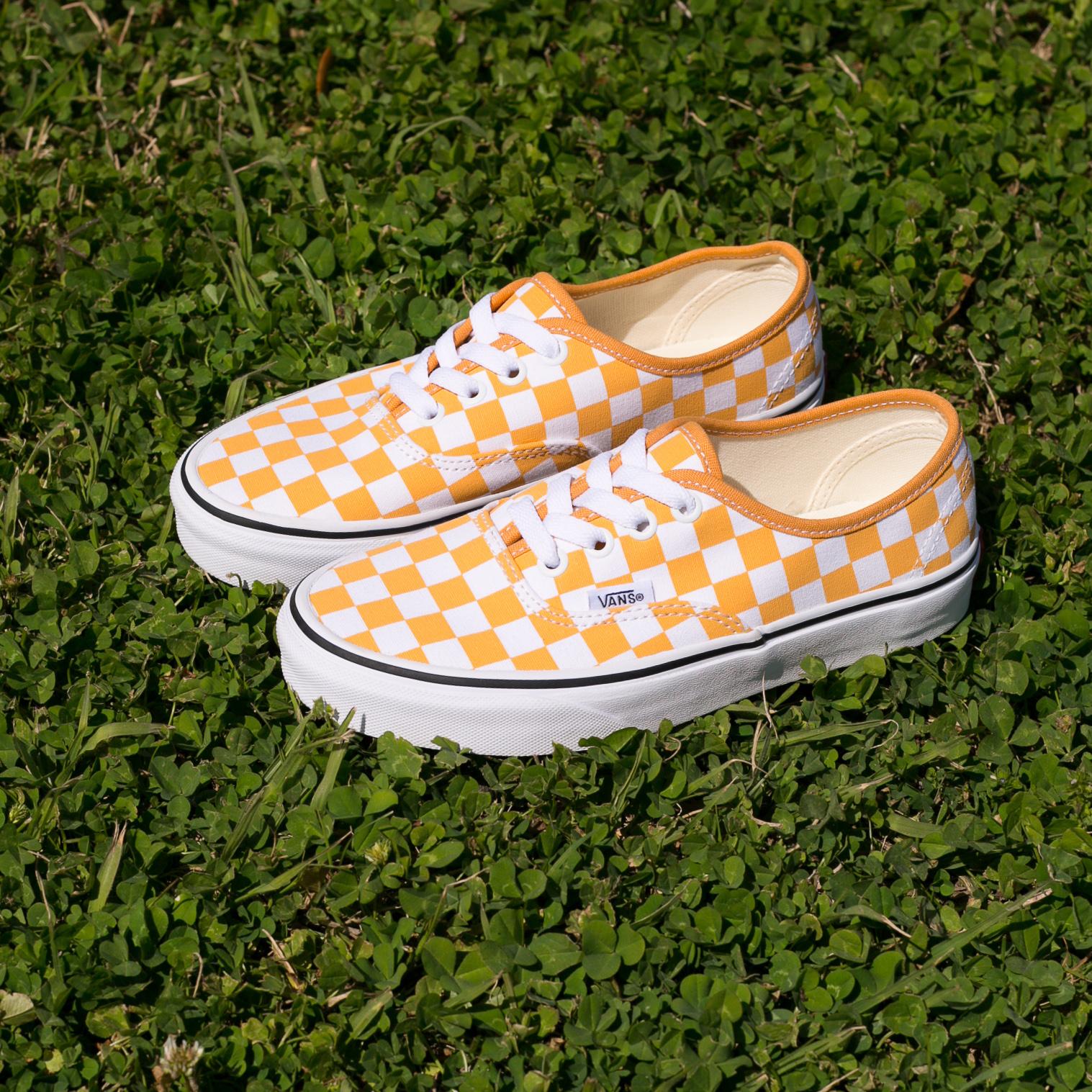 Vans Authentic Checkerboard Golden