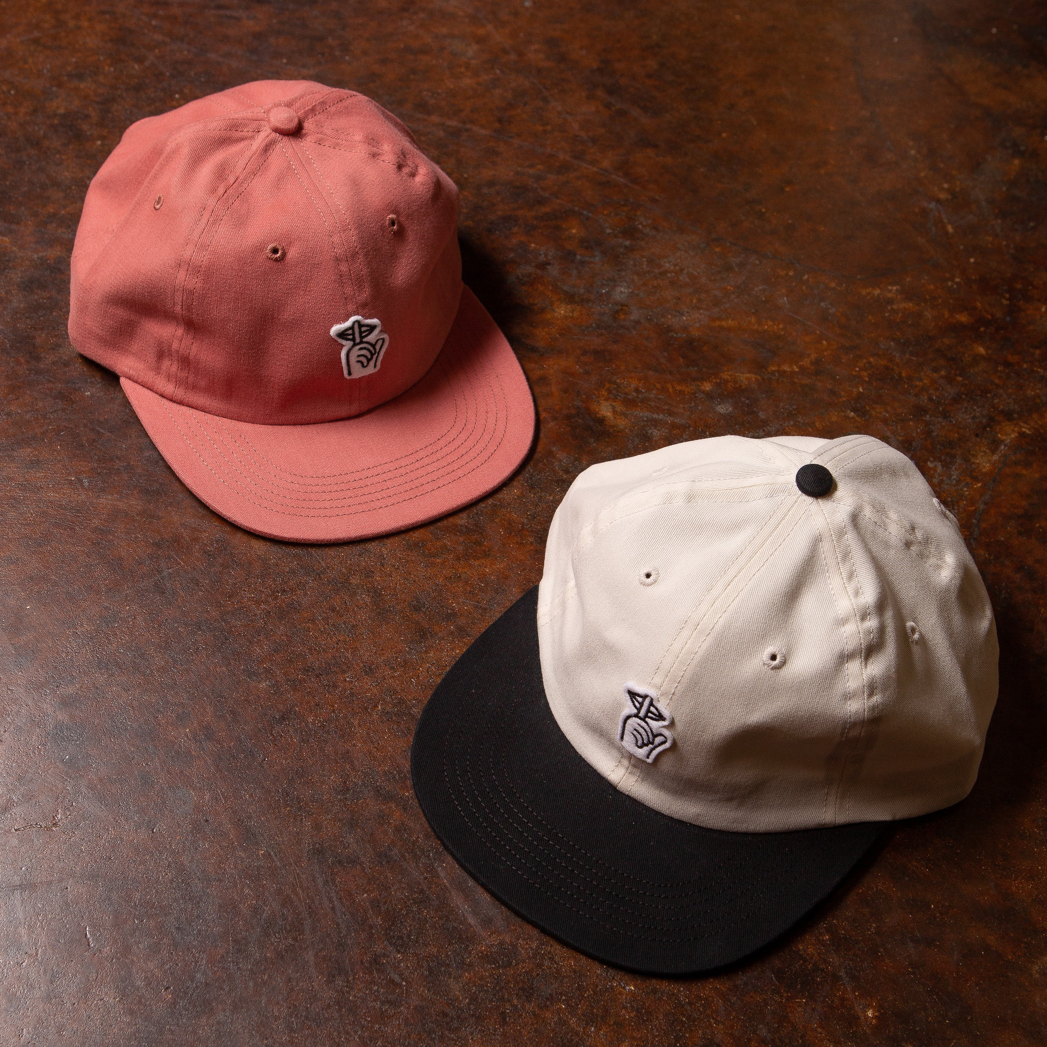 The Quiet Life Shh Felt Patch Polo Hat