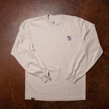 The Quiet Life Shh Embroidery LS Cement