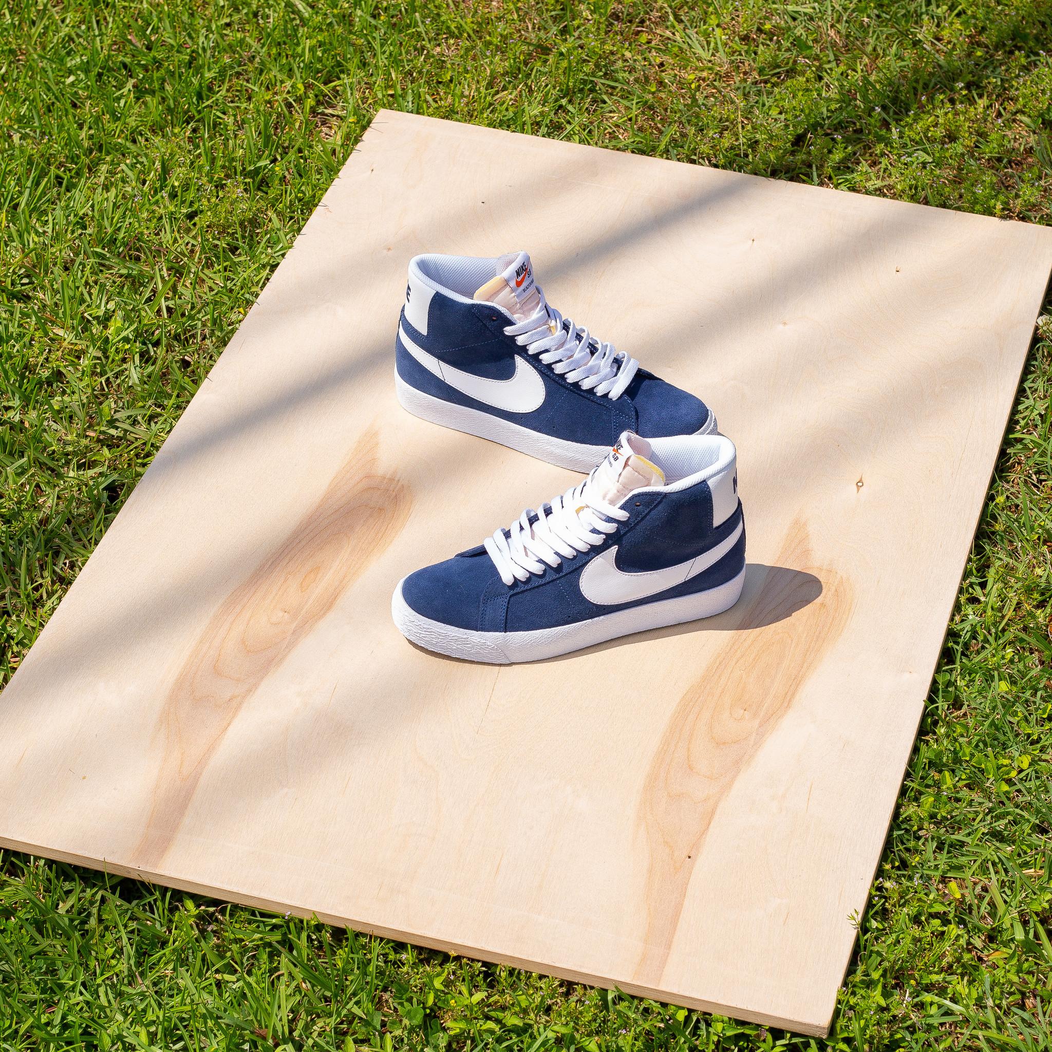 Nike SB Nike SB Blazer Mid Navy-White