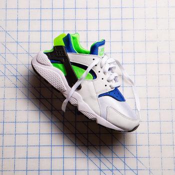 Nike Nike Air Hurrache Scream Green