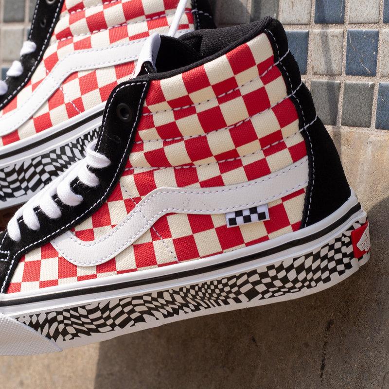 Vans Vans SK8 Hi Grosso '84 Black/Red/Checkerboard