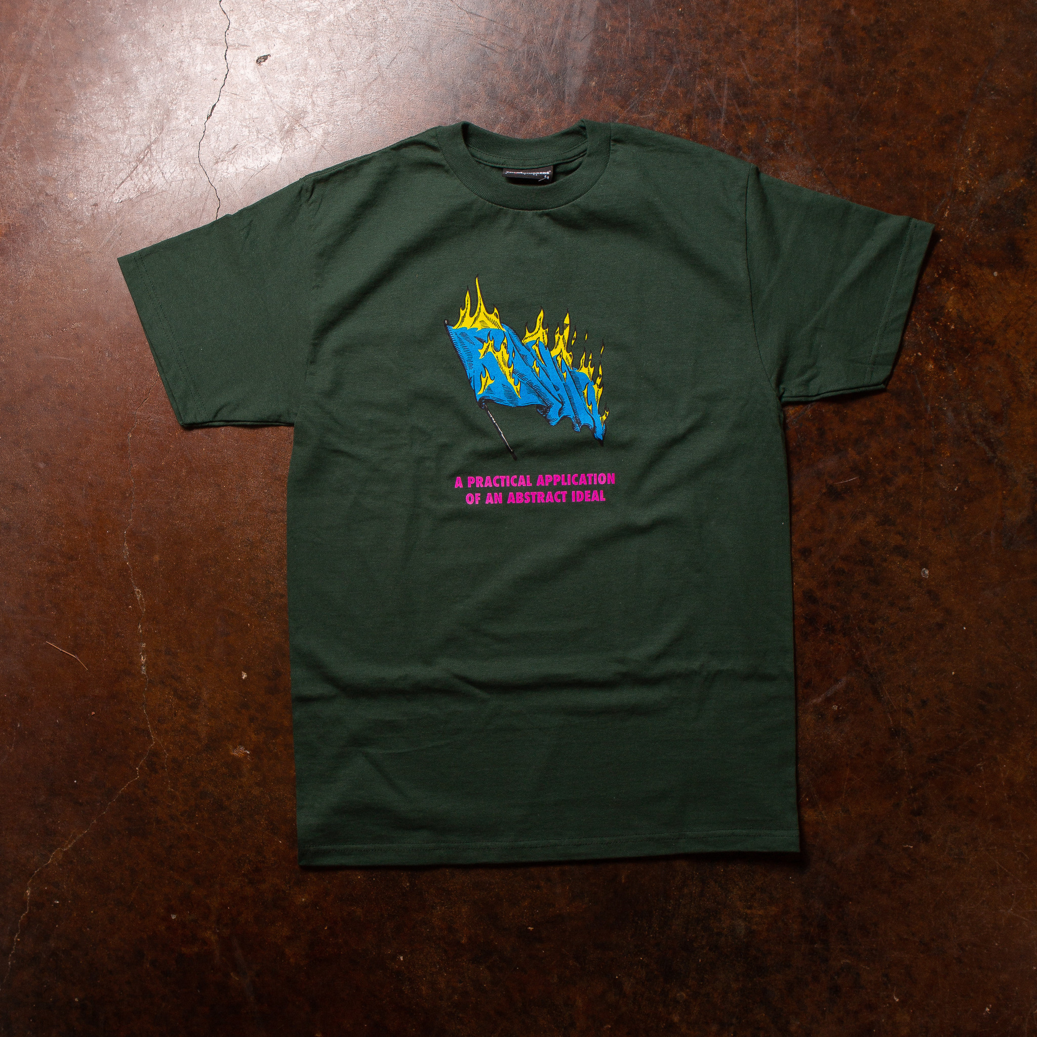 The Hundreds The Hundreds Abstract Ideal Tee Forest