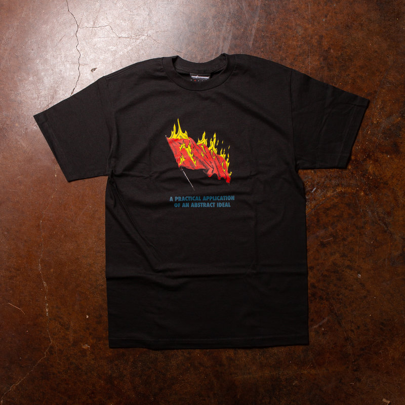 The Hundreds Abstract Ideal Tee Black