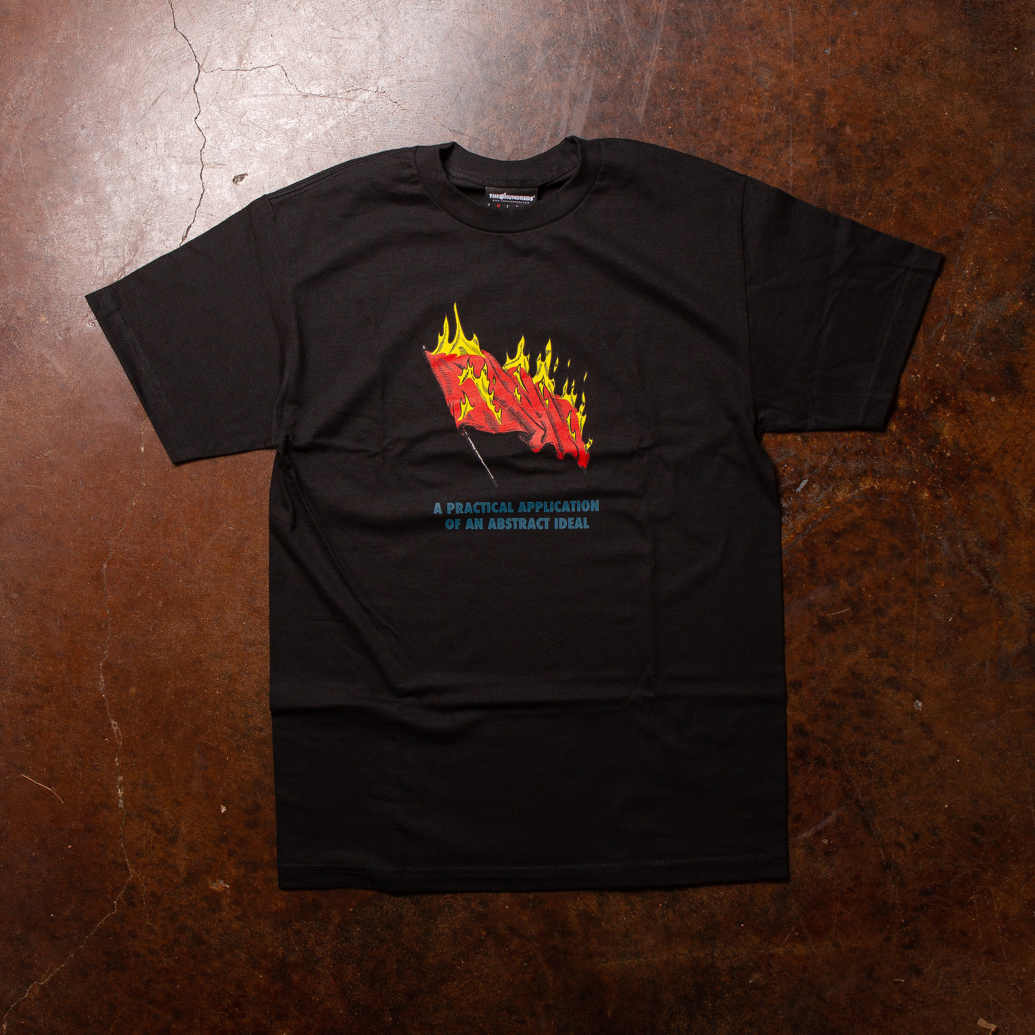The Hundreds The Hundreds Abstract Ideal Tee Black