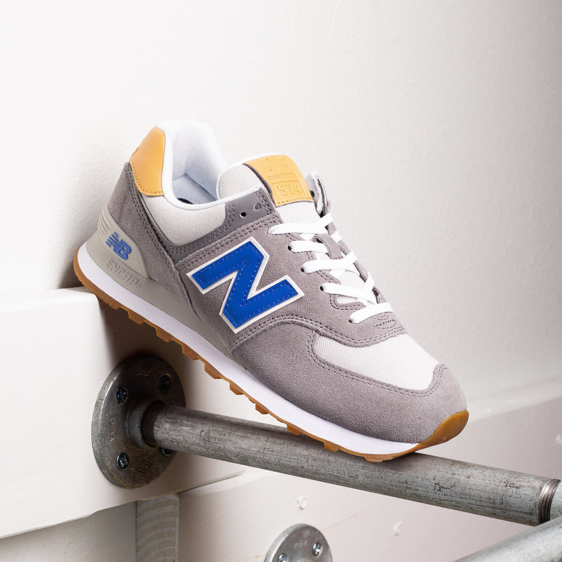 New Balance New Balance 574 grey blue