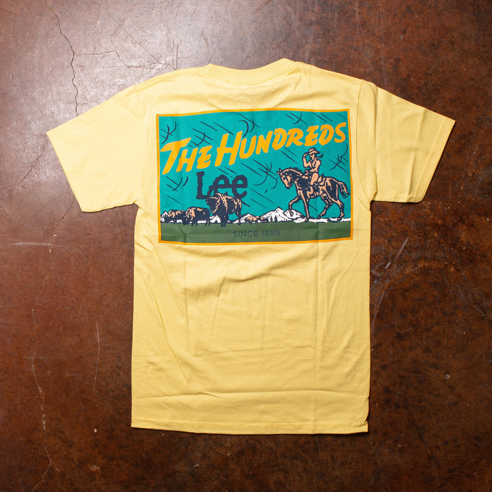 The Hundreds The Hundreds x Lee Jeans Storm Rider Tee Banana