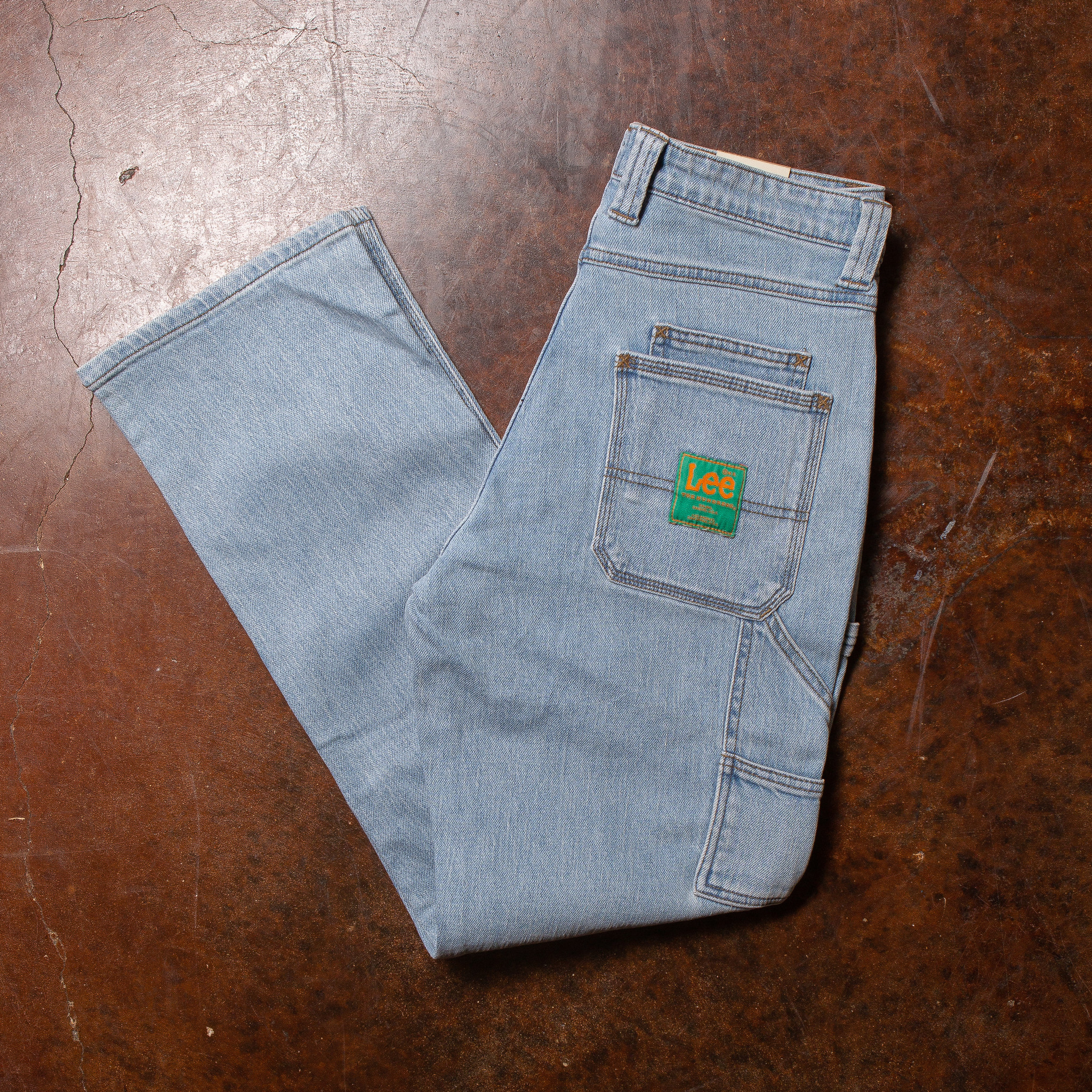 The Hundreds x Lee Jeans Work Pants Blue