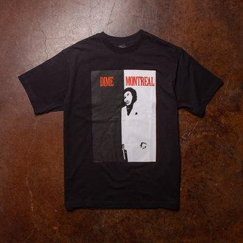 Dime Dime Restoration Face T-Shirt Black