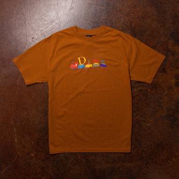 Dime Dime Train T-Shirt Coffee