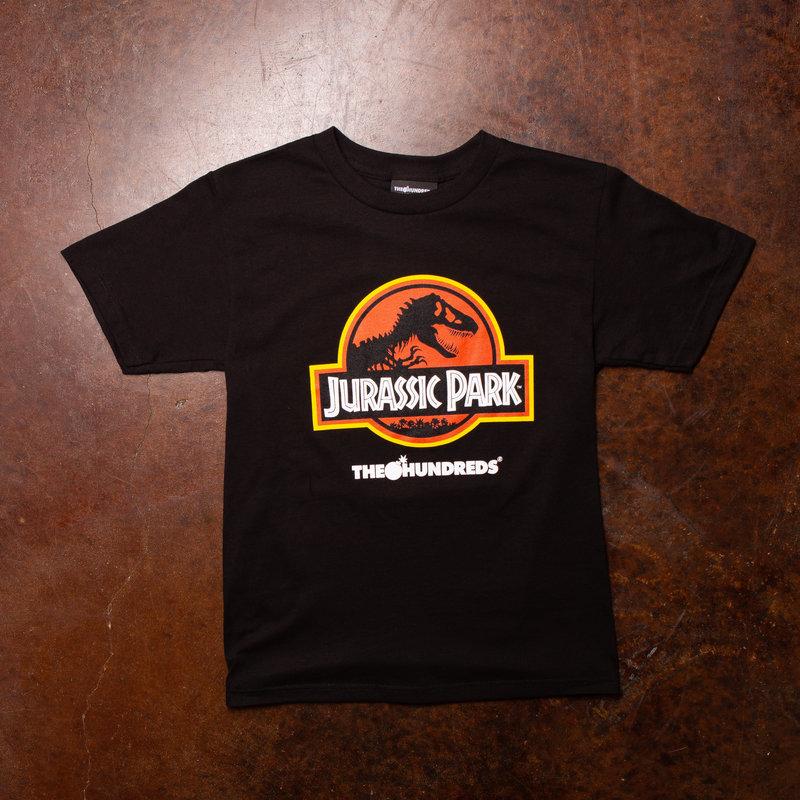 The Hundreds Jurassic Park Logo Tee Black