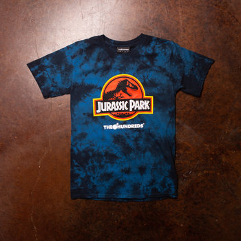 The Hundreds Jurassic Park Logo Tee Blue