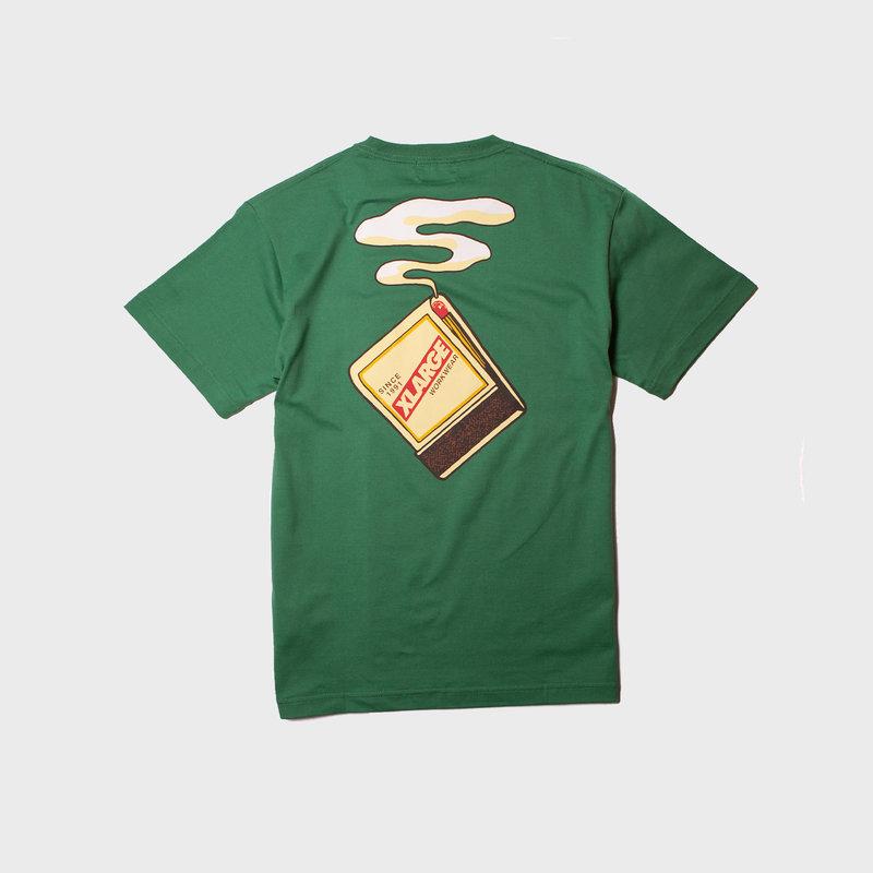 XLarge Matches Pocket Tee Green