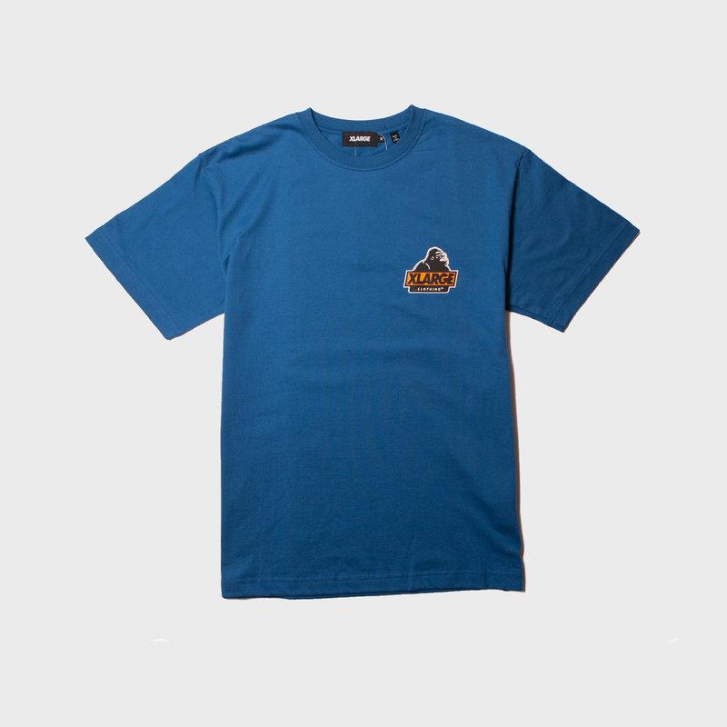 XLarge Slanted OG Tee Blue