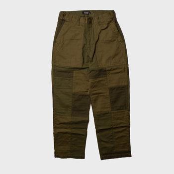 XLarge Patch Work Baiker Pants Olive