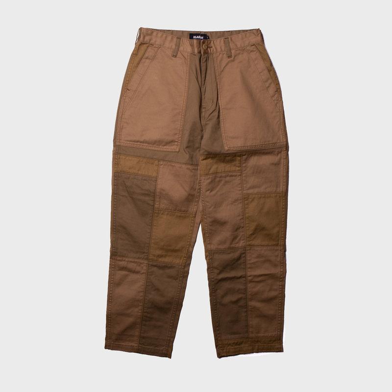 XLarge Patch Work Baiker Pants Beige