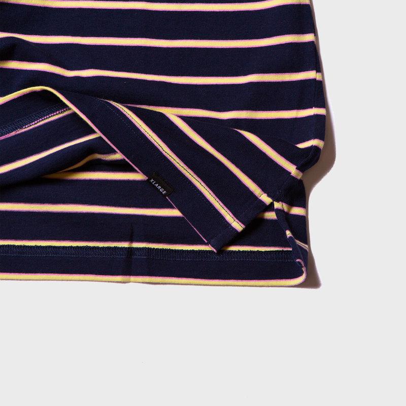 XLarge Stripe Tee Navy
