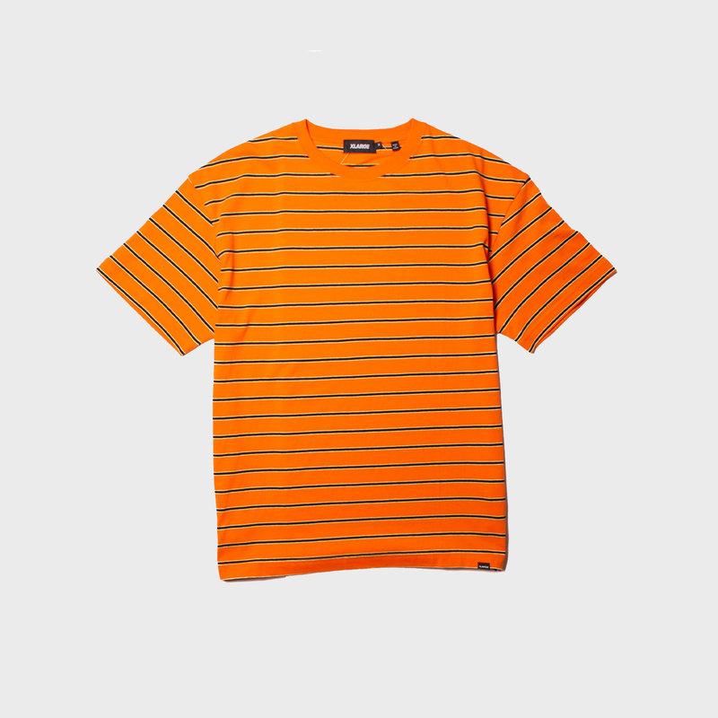 XLarge Stripe Tee Orange