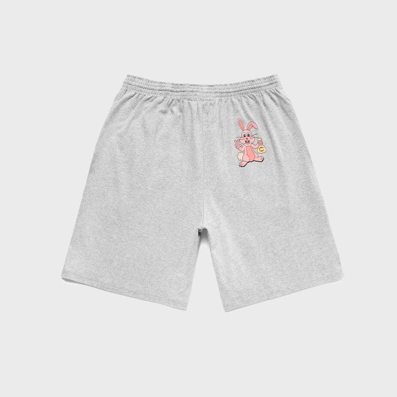Carrots x  Freddie Gibbs Cokane Rabbit Shorts Grey