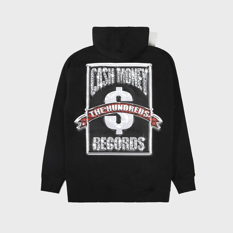 The Hundreds The Hundreds x Cash Money Records Cash Money Logo Hoodie Black