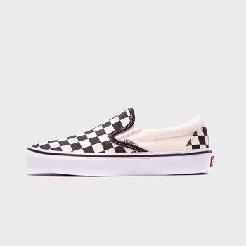 Vans Classic Checkerboard Black White Slip On
