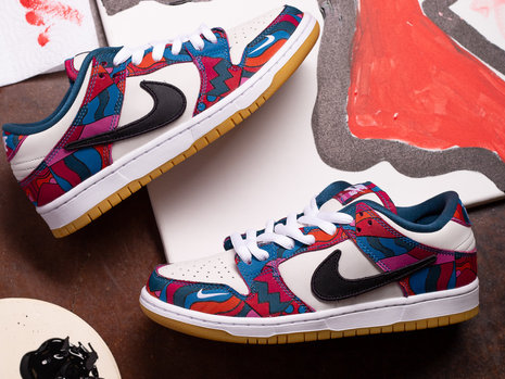 Nike SB x Parra Dunk Low