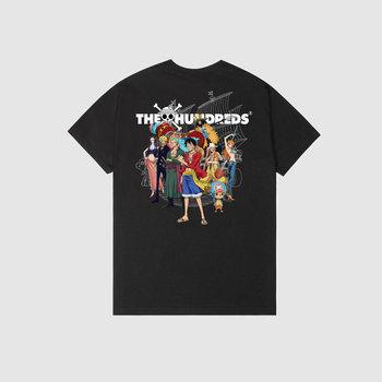The Hundreds x One Piece Crew Ship T-Shirt Black