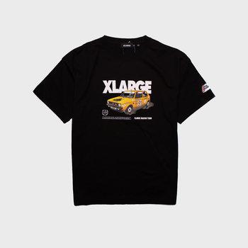 XLarge Vintage Race Car Tee Black