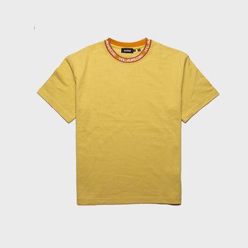 XLarge Jacquard Rib Tee Yellow