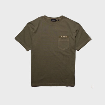 XLarge Heavy Weight Pigment Pocket Tee Olive