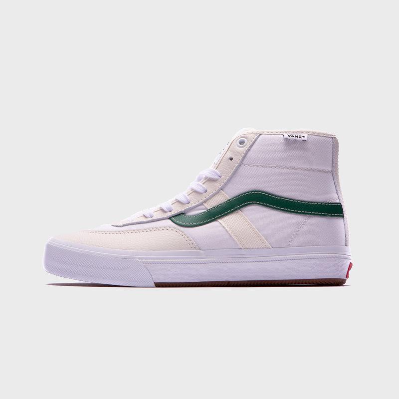 Vans Crocket High Marshmallow/Green
