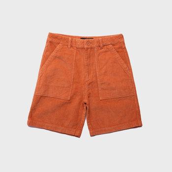 Quasi Corduroy Shorts Peach