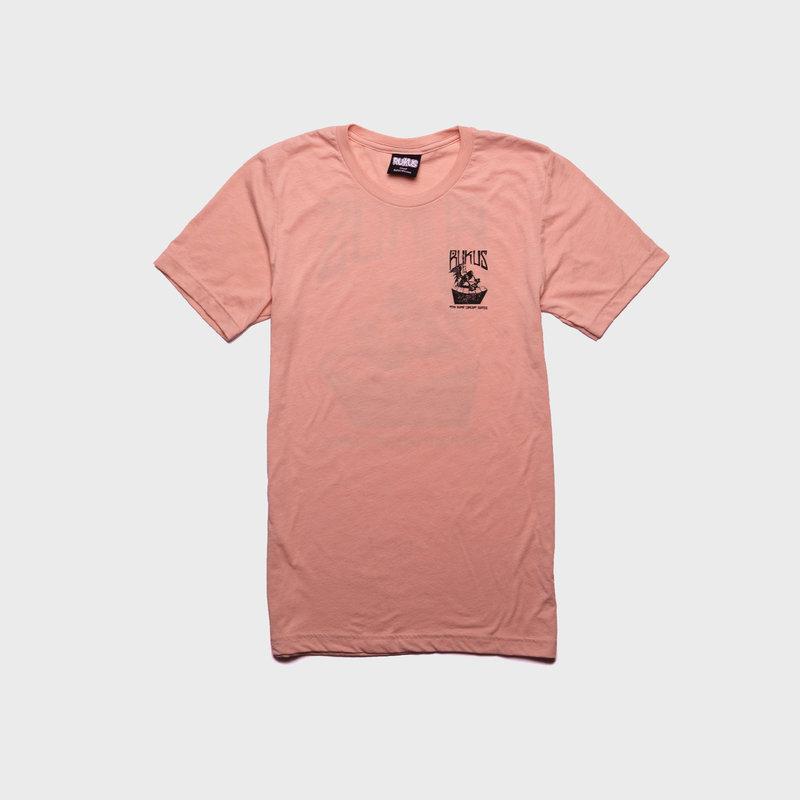Rukus Rukus Ramp Desk T-Shirt Coral
