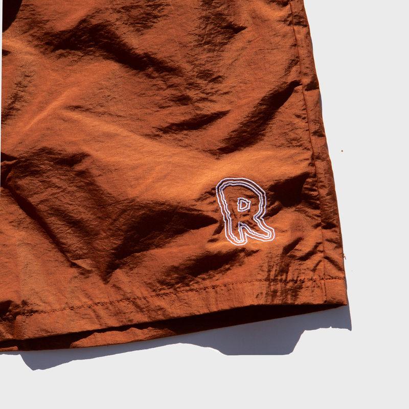 Rukus Rukus Trail Shorts Burnt Orange