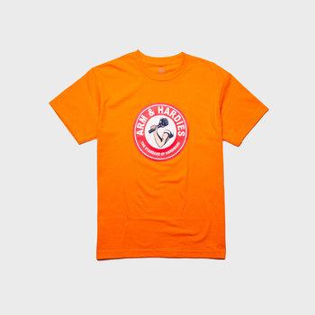 Hardies Stay Clean Tee orange