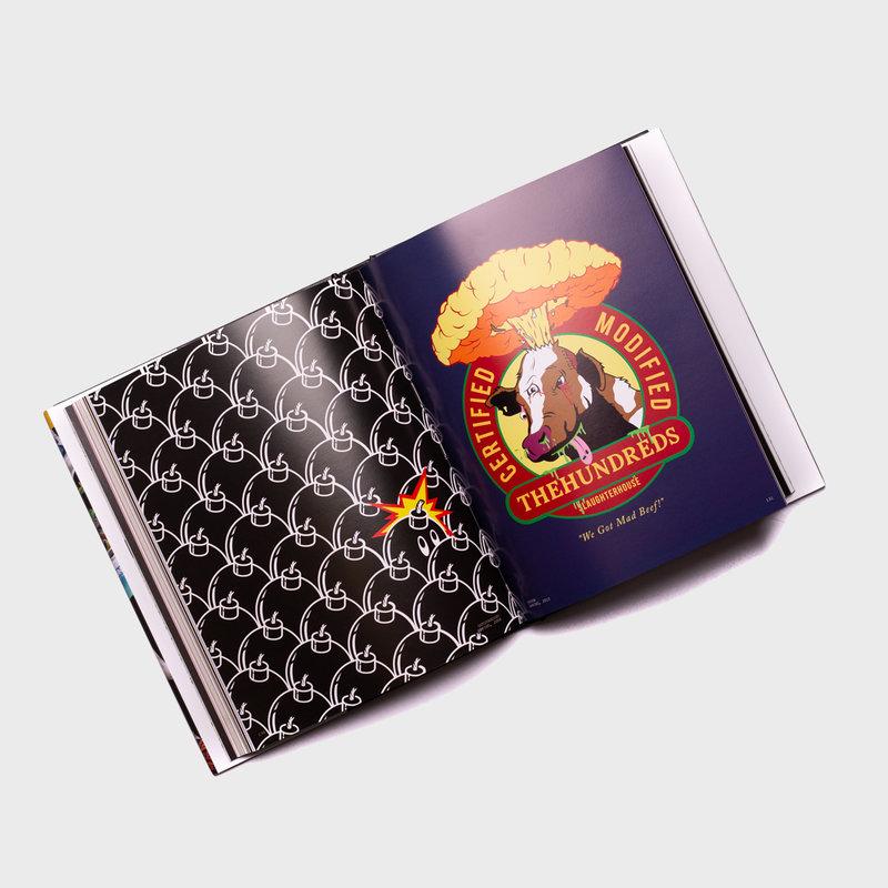 The Hundreds The Hundreds T-Shirt Graphics 2003-2020 Book
